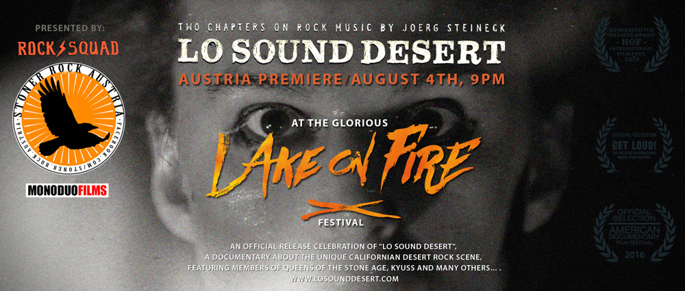 Lo Sound Desert - Austria Premiere - Lake On Fire
