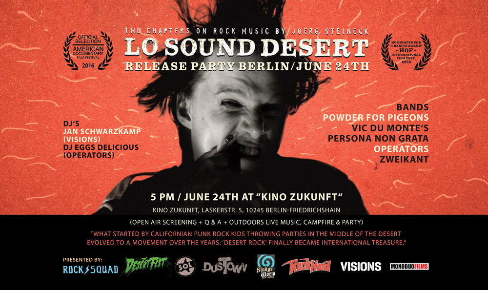 Lo Sound Desert - Berlin Premiere - facebook event