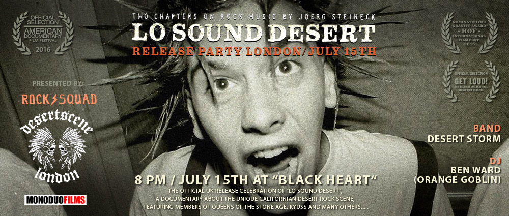 Lo Sound Desert - London Premiere - facebook event